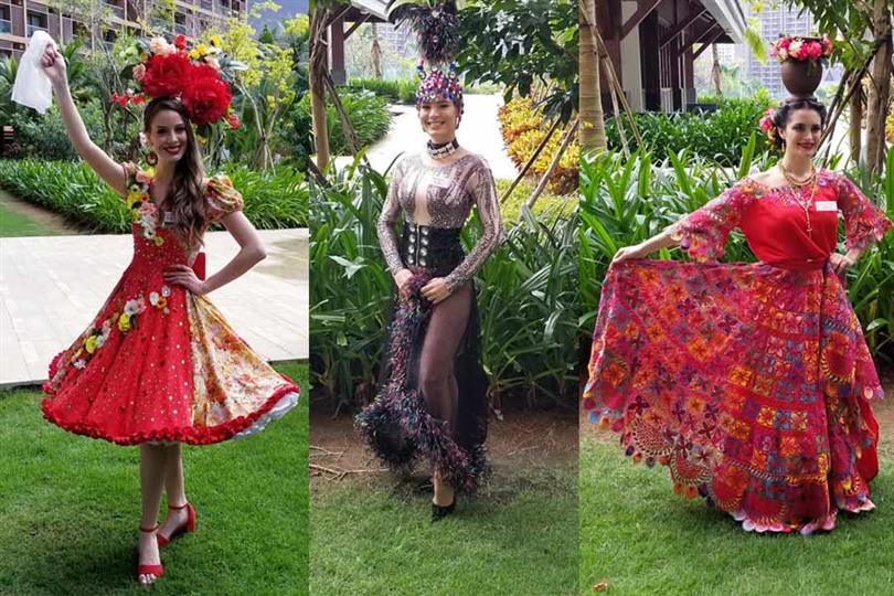 Miss World 2018 delegates dazzle at the Dances of the World Auditions