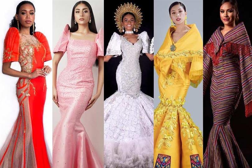 Magandang Filipinas 2021 Filipiniana Competition Top 10 Contestants