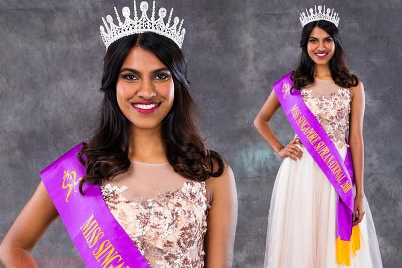 Miss Supranational Singapore 2018 Priyanka Annuncia