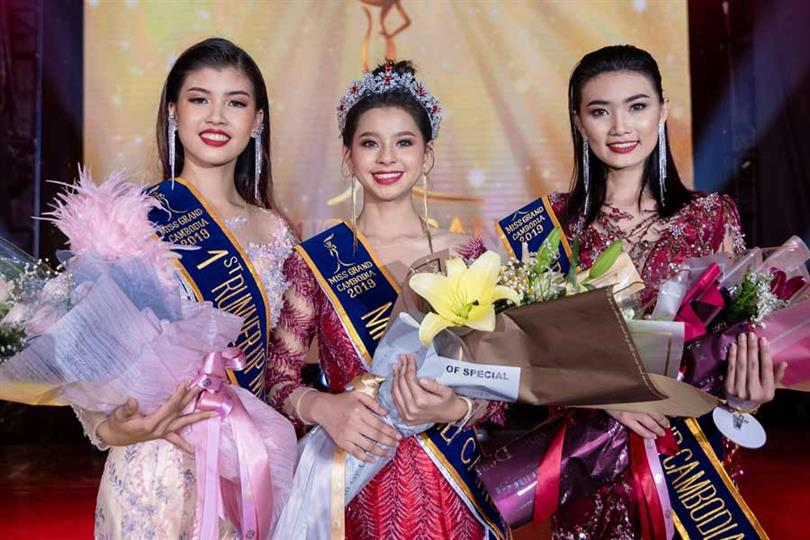 Det Sreyneat crowned Miss Grand Cambodia 2019