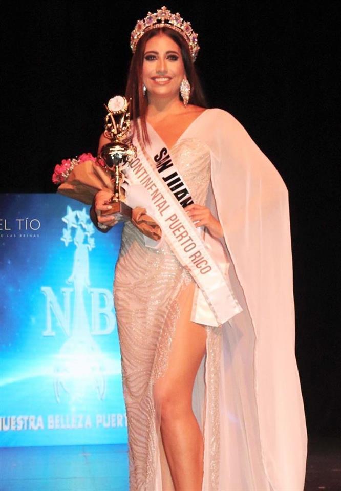 Daileen Marie Vega Colón was crowned Miss Intercontinental Puerto Rico 2019