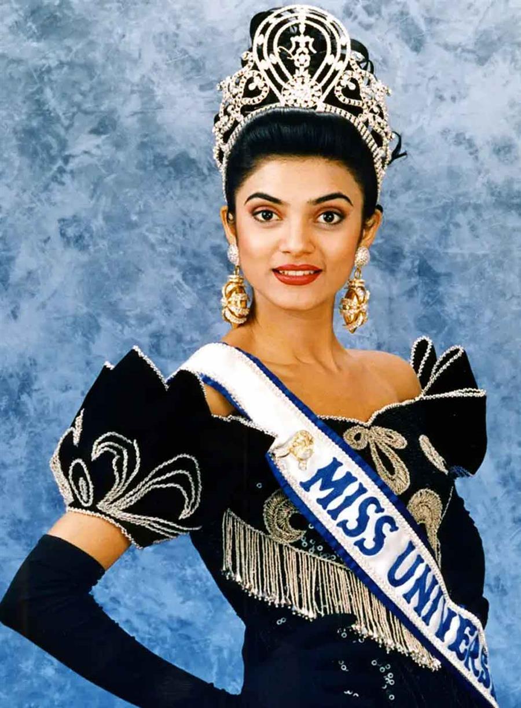 Miss Universe 1994 Sushmita Sen
