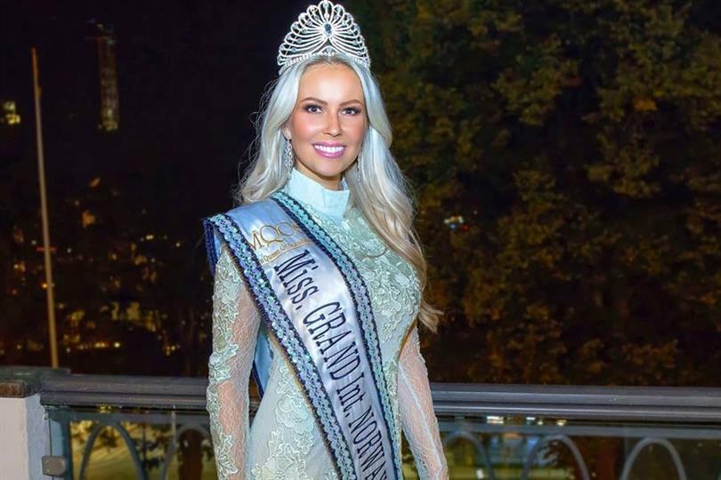 Maria Kassandra Barbantonis crowned Miss Grand Norway 2018