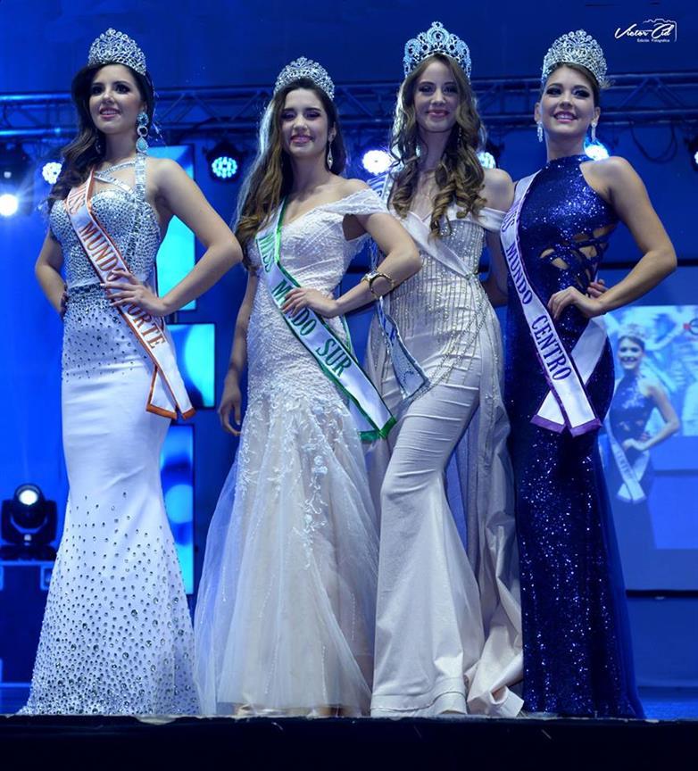 Anahi Hormazabal Garay crowned Miss Mundo Chile 2018