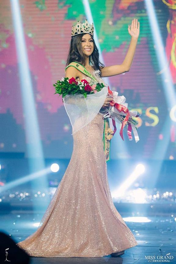 Milena Rodríguez of Itapúa crowned Miss Grand Paraguay 2019