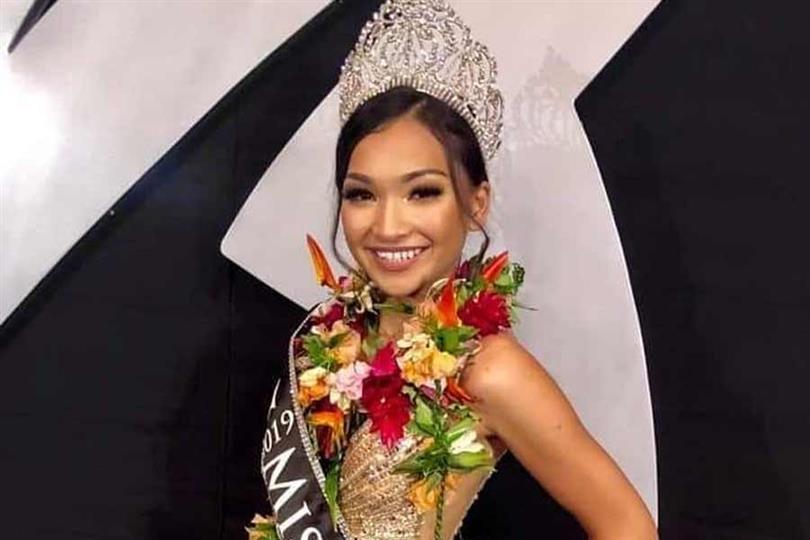 Shannon Tudela Sasamoto crowned Miss Marianas 2019