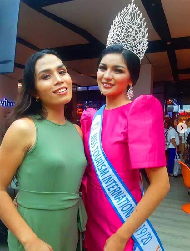 Victory Party for the newly crowned Miss Tourism International 2019 Cyrille Payumo