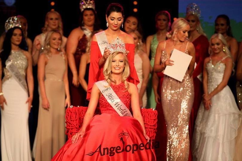 Ólafía Ósk Finnsdóttir crowned Miss World Iceland 2017