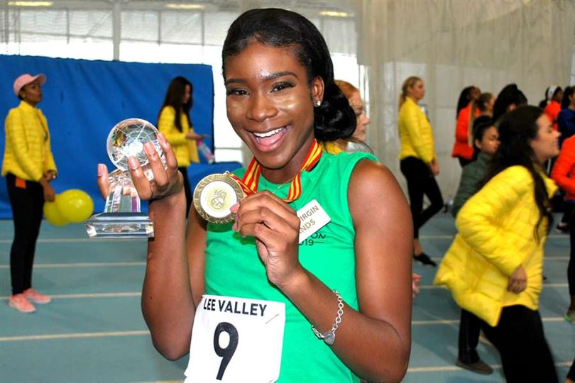 BVI creates history, enters Top 40 as Rikkiya Brathwaite wins Sports Challenge