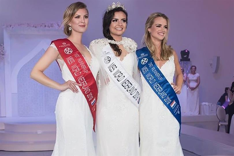 Brenda Felicia crowned Miss World Netherlands 2019
