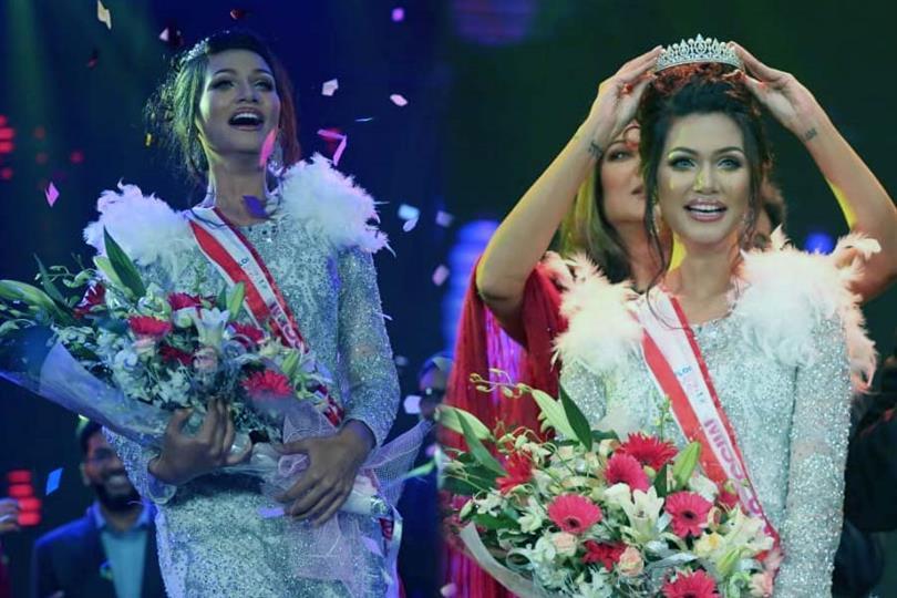 Shirin Akter Shela crowned Miss Universe Bangladesh 2019