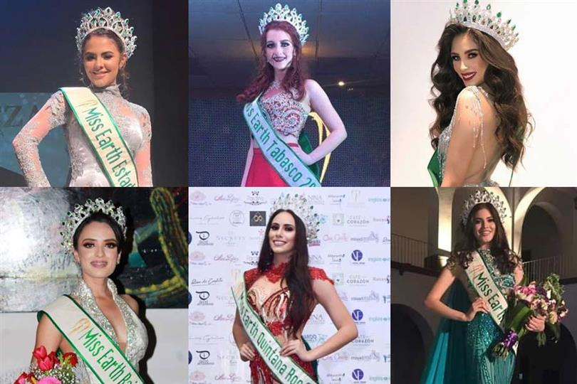 Miss Earth Mexico 2019 Meet the Contestants