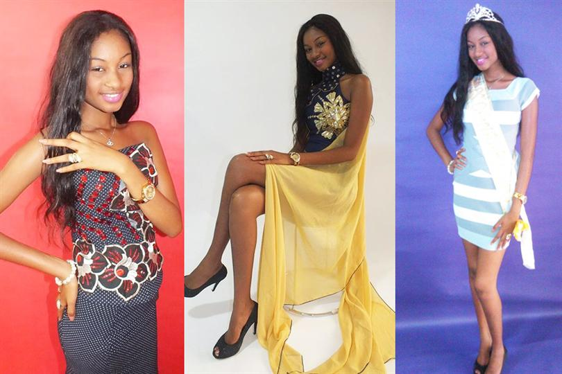 Miss Guinea 2015 Winner Mama Aissata Diallo