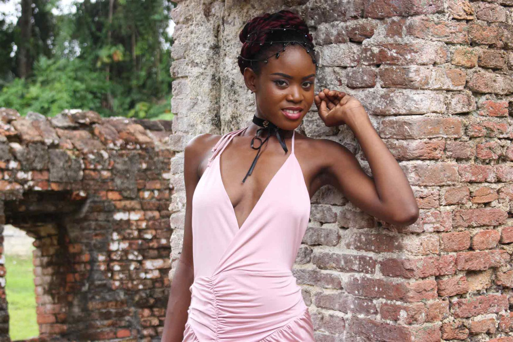 Miss Earth Guyana 2018 finalist Anita Baker 'Beauties for a Cause' Project