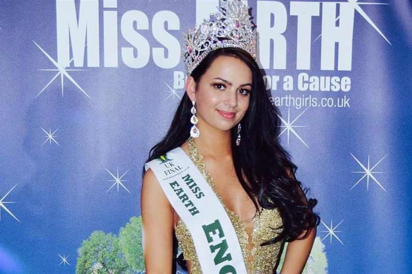 Stephanie Wyatt crowned Miss Earth England 2019