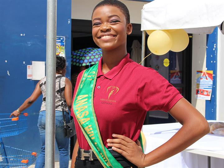 Beauty Talks with Miss Earth Guyana 2018 finalist Anasa Williams