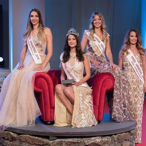 Ivana Mudnic Dujmina crowned Miss Croatia 2018