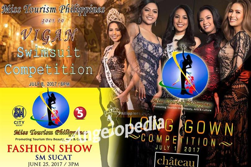 Miss Tourism Philippines 2017 Schedule of events and activities