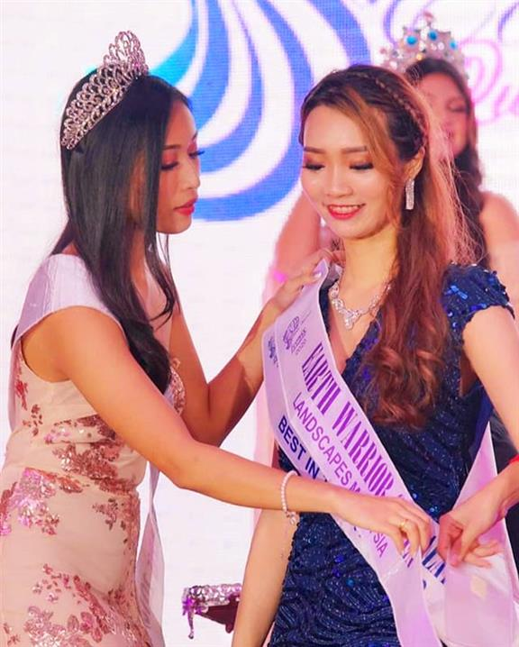 Miko Kong crowned Miss Landscapes Malaysia 2020 for Miss Landscapes International 2020