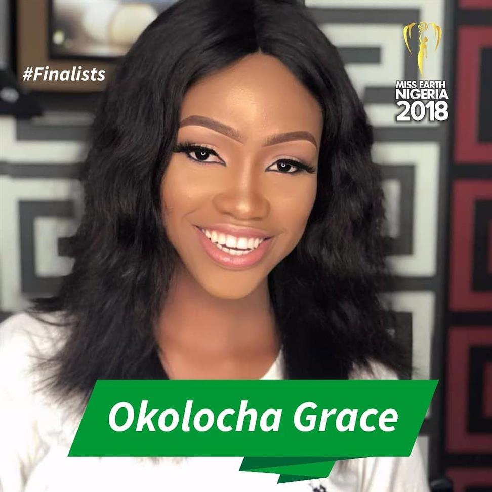 Miss Earth Nigeria 2018 Top 5 Hot Picks by Angelopedia