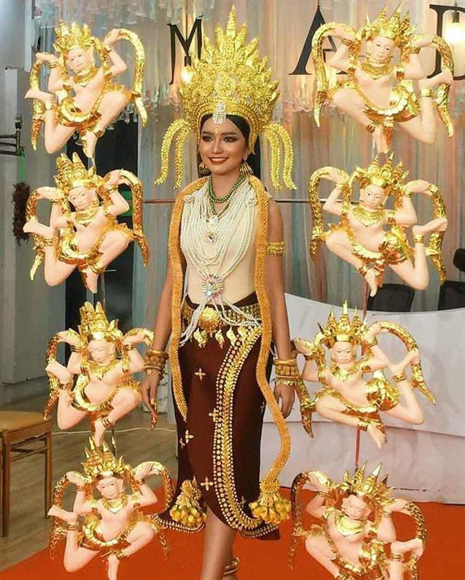 """Cambodia's Somnang Alyna to wear """"Indra Devi"""" inspired costume for Miss Universe 2019"""