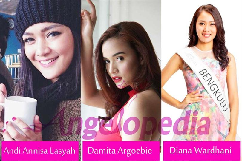 Miss Indonesia 2015 Top 5 Hot favourites