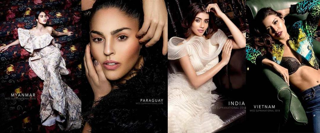 Miss Supranational 2018 Top 20 delegates for special photoshoot revealed