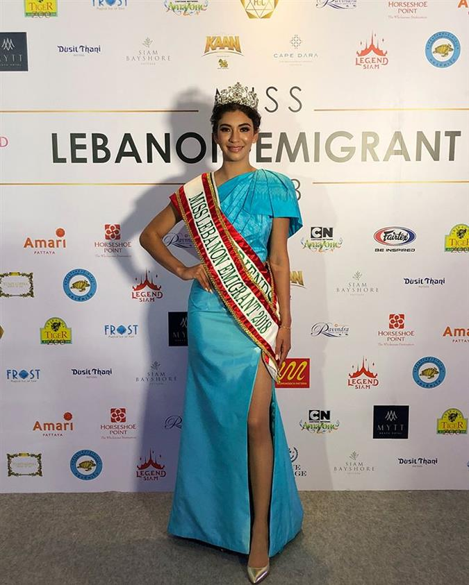 Rachel Younan to represent Lebanon in Miss International 2018