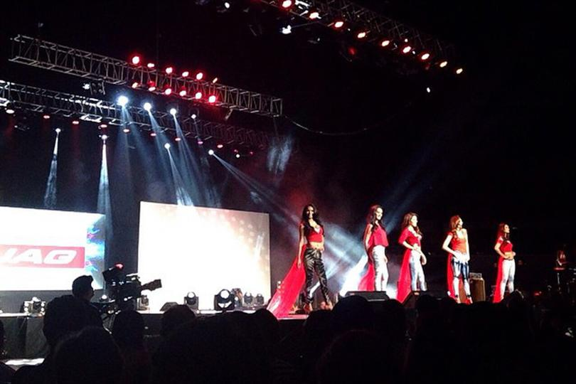 Binibining Pilipinas 2015 contestants during Fashion Show