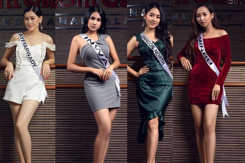Miss Earth Myanmar 2019 Meet the Delegates