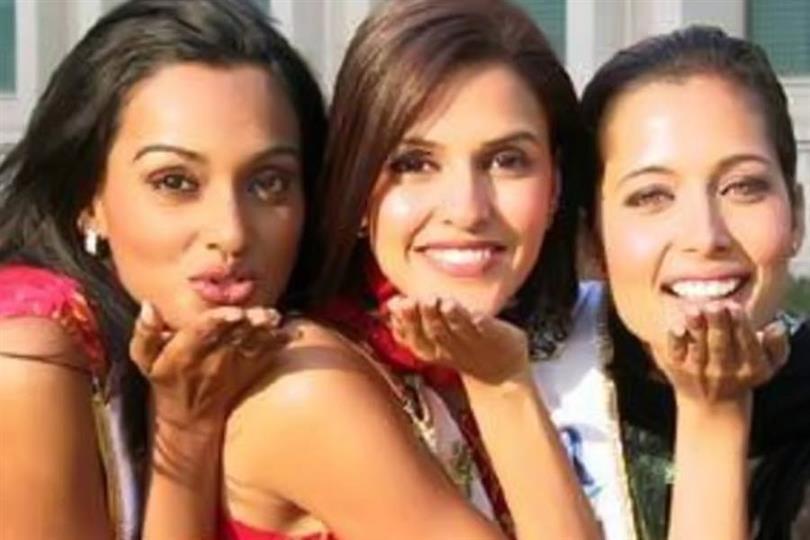 Neha Dhupia Miss India 2002
