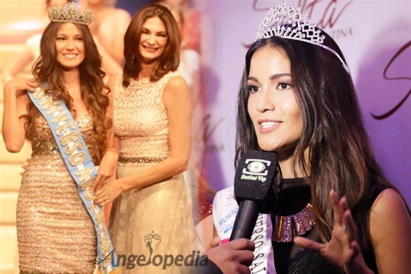 Valentina Ferrer: Claudia Barrionuevo Crowned Miss Universe Argentina 2015
