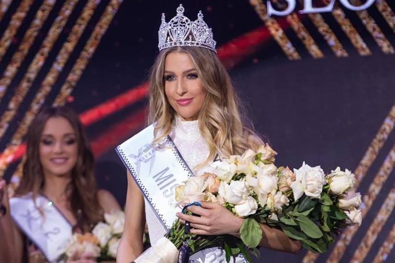 Barbora Hanová crowned Miss Universe Slovakia 2018