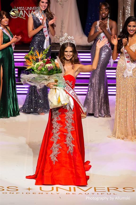 Marta Magdalena Stepien crowned Miss Universe Canada 2018