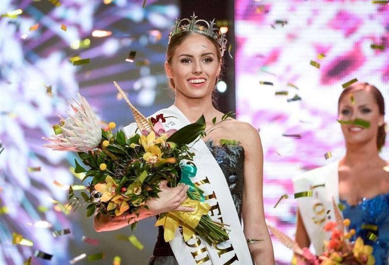 Agne Kavaliauskaite Miss World Lithuania 2014