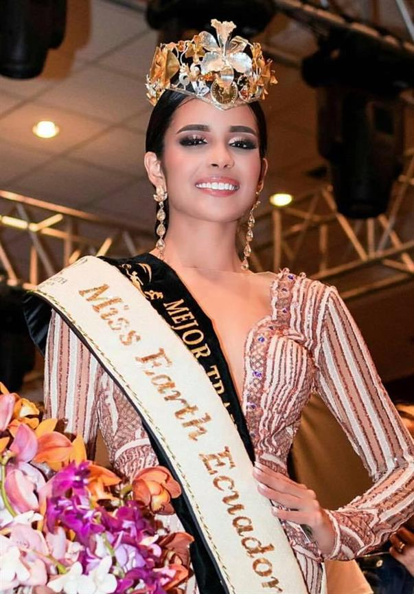 Diana Valdiviezo Ortiz crowned Miss Earth Ecuador 2018