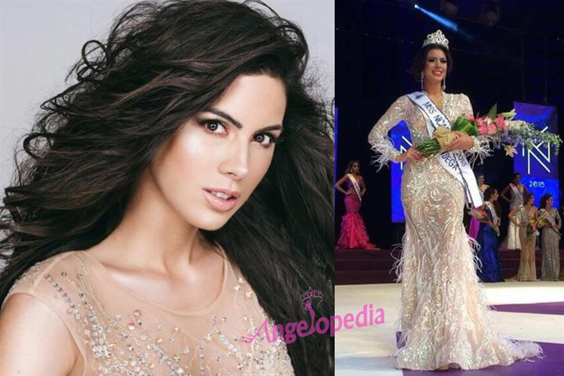 Adriana Paniagua crowned Miss Nicaragua 2018