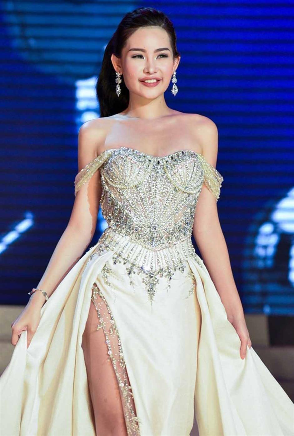 Ngân Anh Lê Âu represented Vietnam at Miss Intercontinental 2018