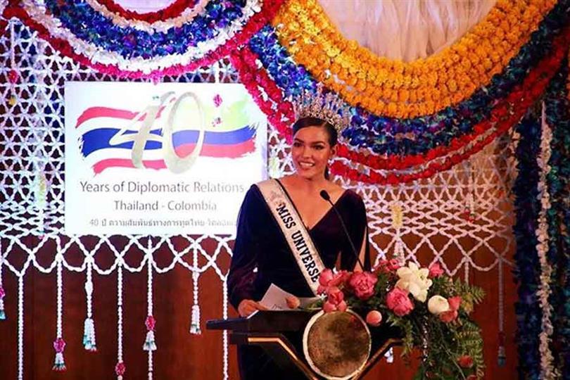 Fan's Favourite Paweensua Drouin dazzles in her journey towards Miss Universe 2019