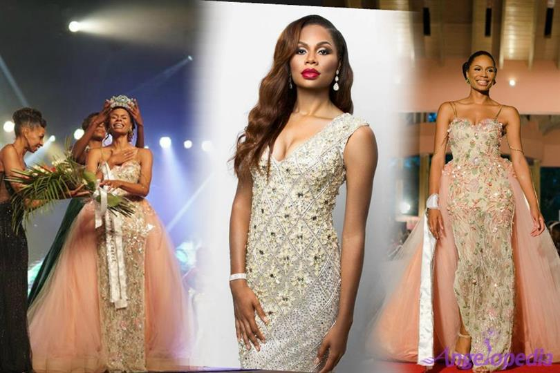 Geena Thompson crowned as Miss World Bahamas 2017