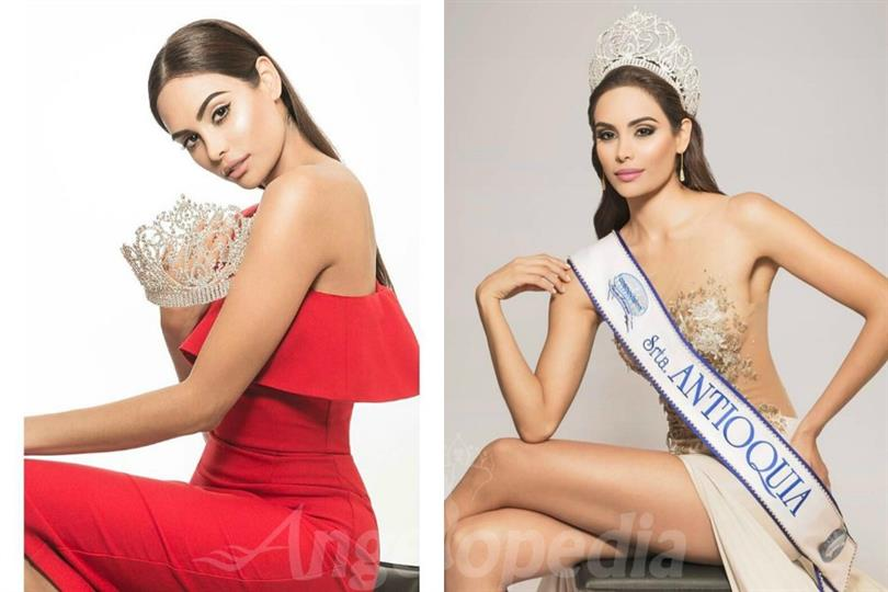 Vanessa Pulgarin Monsalve crowned as Miss International Colombia 2017