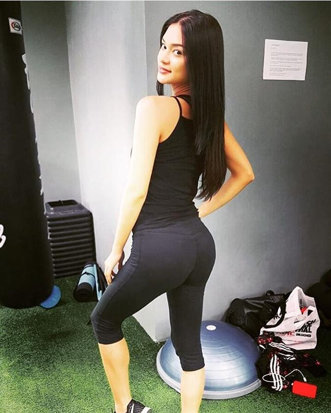 Secret behind Pia Wurtzbach's perfectly toned body
