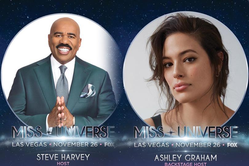 Steve Harvey returns to host Miss Universe 2017!