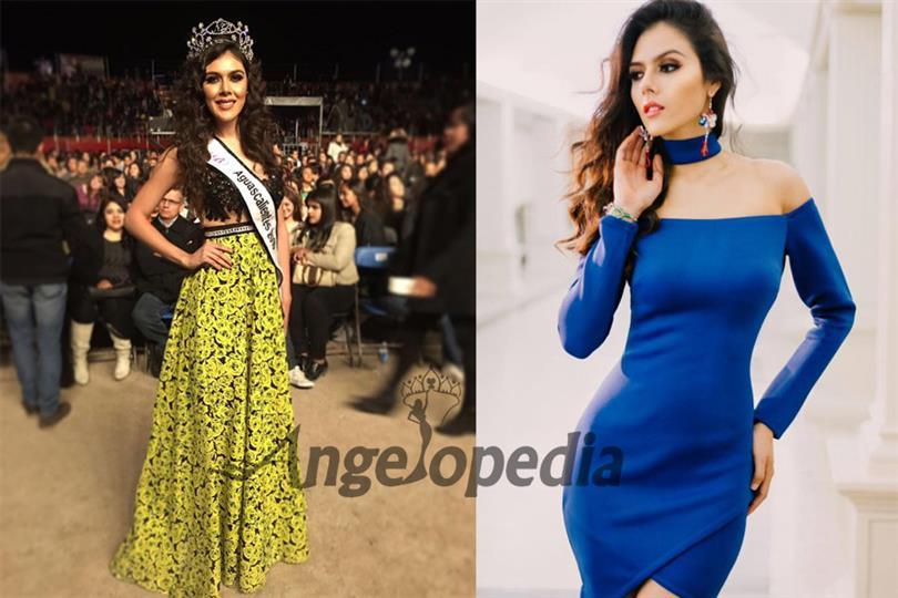 Karla María López Berumen crowned as Nuestra Belleza Aguascalientes 2016