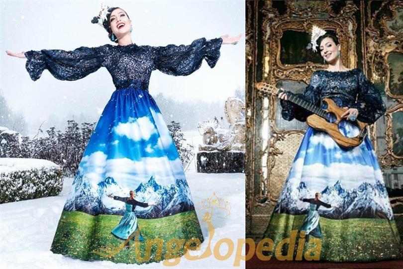 """Dajana Dzinic exhibits her """"Sound of Music"""" inspired National Costume"""