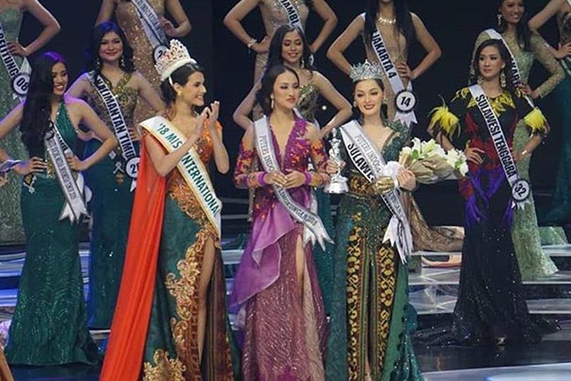 Jolene Marie Cholock Rotinsulu crowned Puteri Indonesia Lingkungan 2019 aka Miss International Indonesia 2019