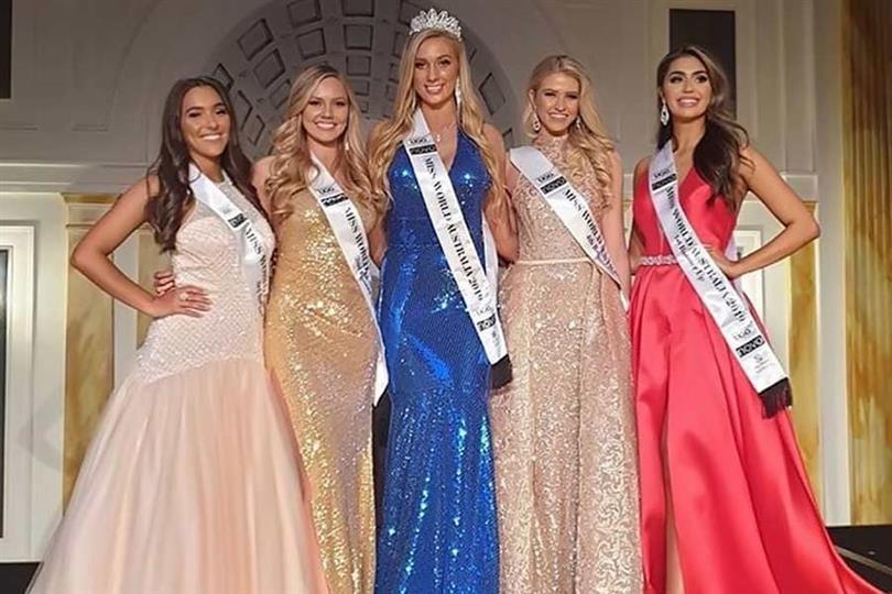 Sarah Marschke crowned Miss World Australia 2019