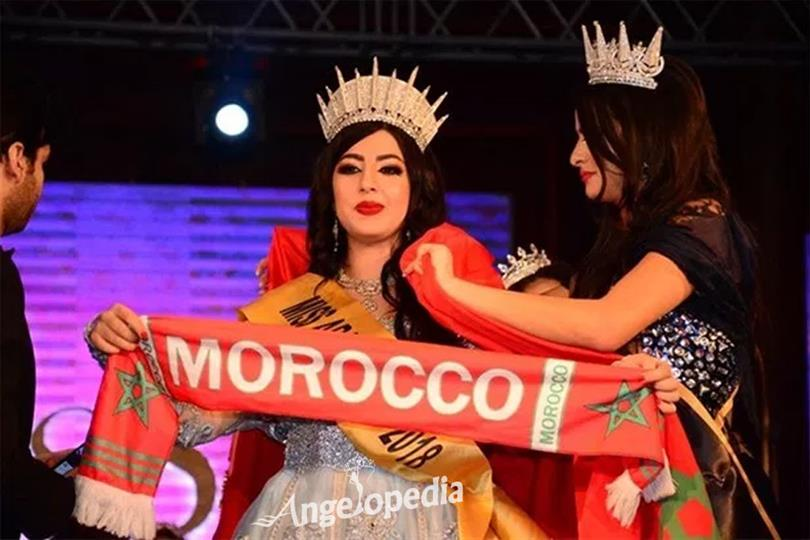 Sherine Hossni from Morocco crowned Miss Arab World 2018