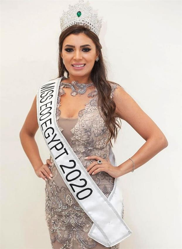Basma Daoud crowned Miss Eco Egypt 2020