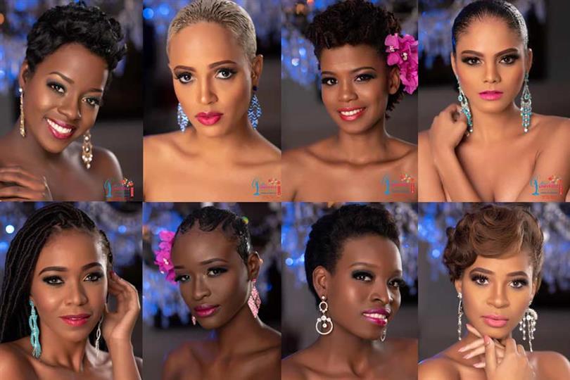 Miss Universe Jamaica 2018 Meet the Contestants